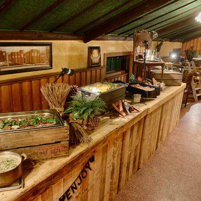 Warm Limburgs buffet