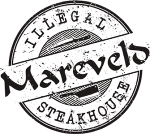 Logo Mareveld - illegal steakhouse